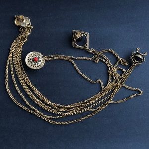 3 TIERED VINTAGE NECKLACE